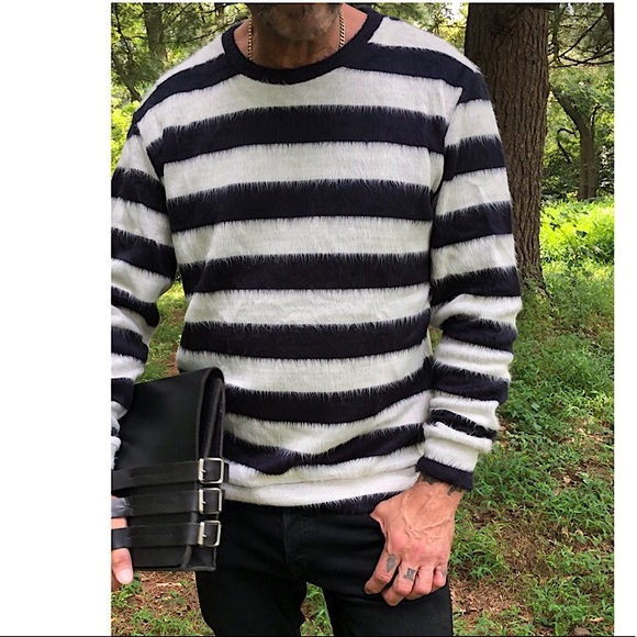 Zara Other - Black and white stripes man sweater